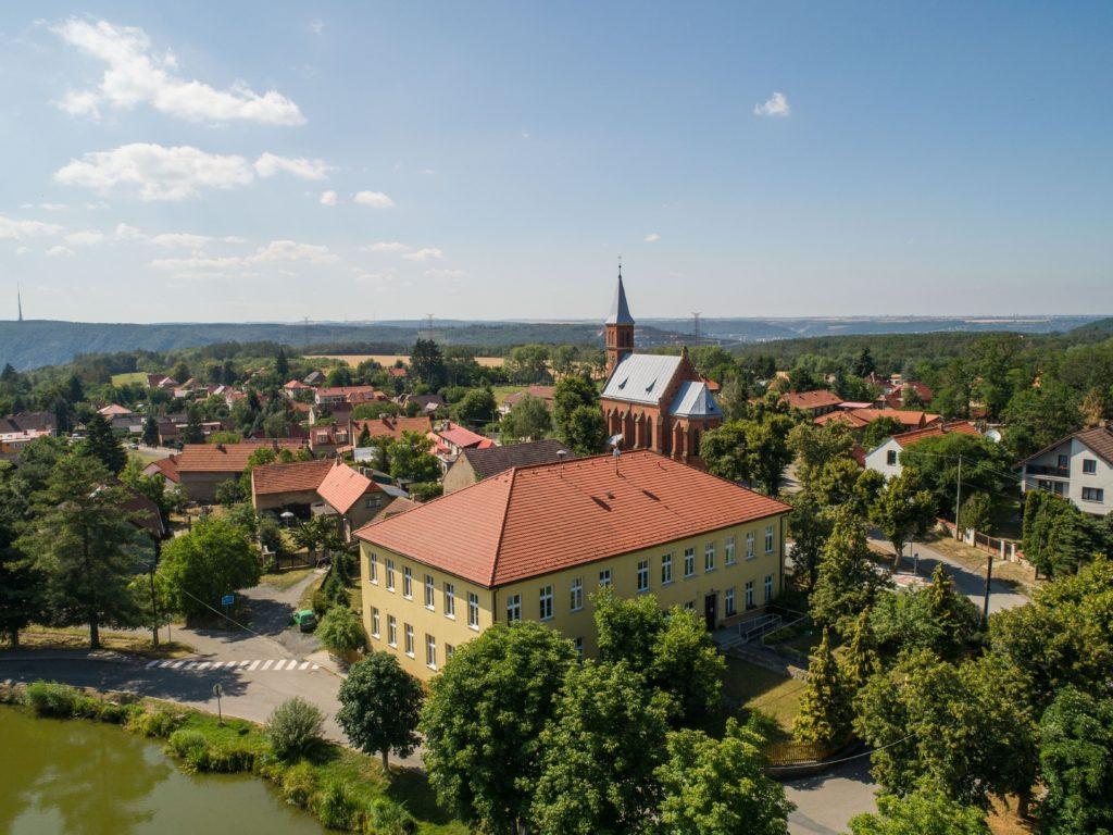 Prodej stavebního pozemku ve Zvoli u Prahy