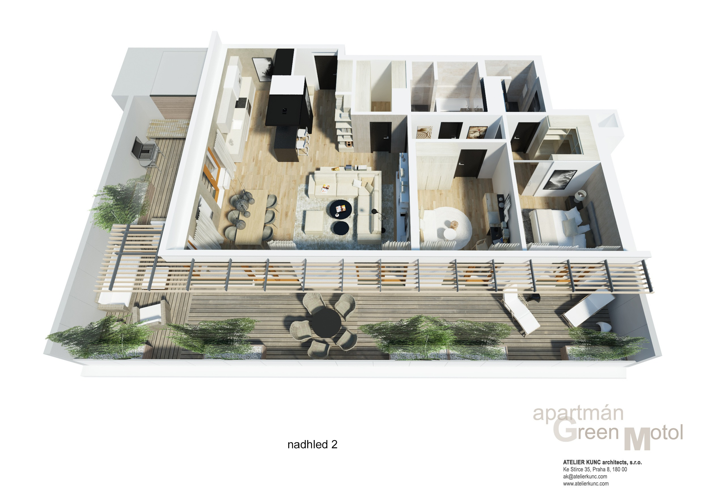 Penthouse v Motole na prodej